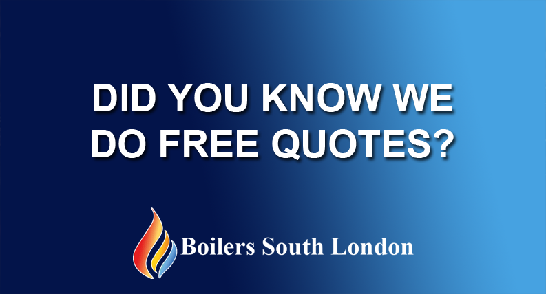 Did you know we do FREE Quotes?