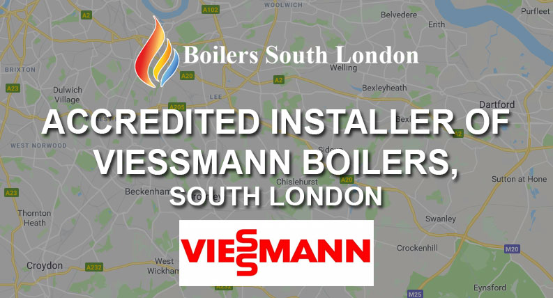 Accredited Installer of Viessmann Boilers, South London